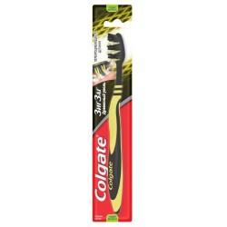 Зубная щетка, Колгейт зиг-заг с древесным углем средней жесткости