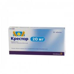 Крестор, табл. п/о 20 мг №28
