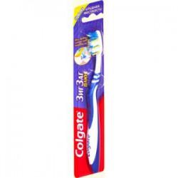 Зубная щетка, Колгейт зиг-заг плюс средней жесткости