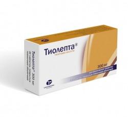 Тиолепта, табл. п/о пленочной 300 мг №30