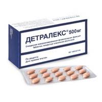Детралекс, табл. п/о пленочной 500 мг №30